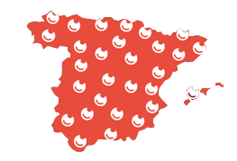 Mapa de cobertura Nexus en España