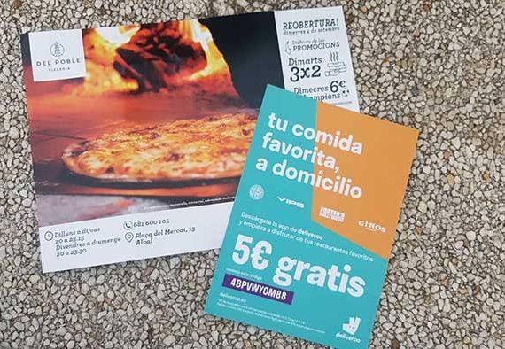Promoción Deliveroo Valencia